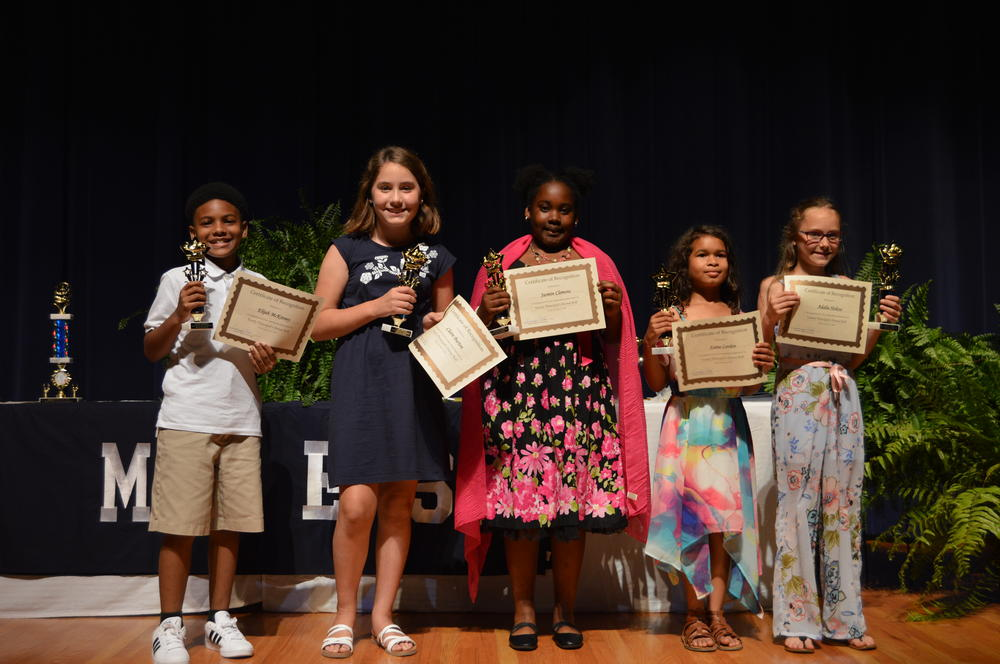 4th grade principals honor roll